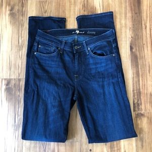 7FAMK Slimmy 29 Dark Wash Jeans